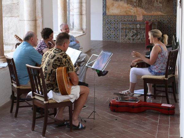 Classical and Jazz Guitar course in Portugal