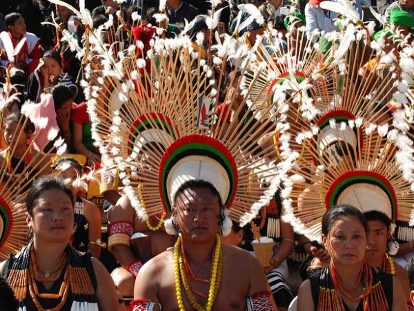 Sekrenyi Festival tour in Nagaland, India