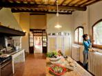 Self catering farmstay in Tuscany