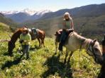 Ranch horseback riding holiday in Canada