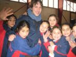 Teach children in Chile
