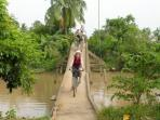 Mekong Delta cycling tours, 3 days
