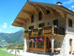 Chalet B&B in the French Alps