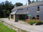Snowdonia country farmhouse B&B in Wales