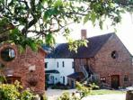 Organic farmstay accommodation in Somerset, England