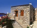 Traditional stone house accommodation in Crete