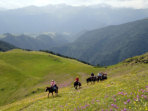 Georgia horse trekking holiday