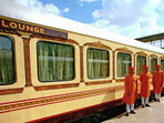 Palace on Wheels luxury train tour in India