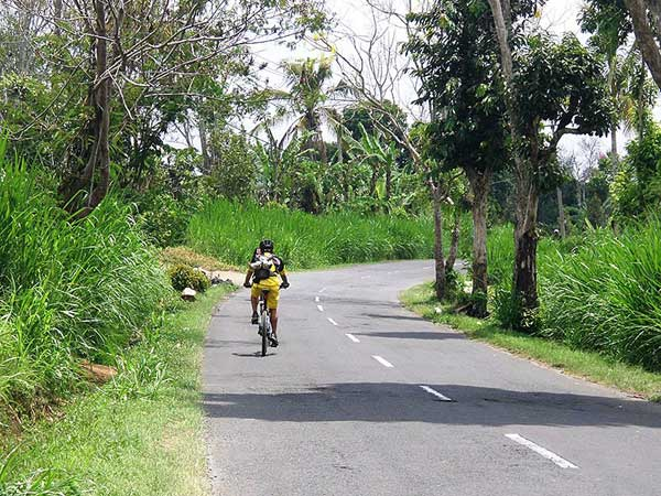 Indonesia cycling holiday, Bali and Java