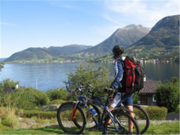 Self guided cycling holiday in Norway, Sunnhordland fjords