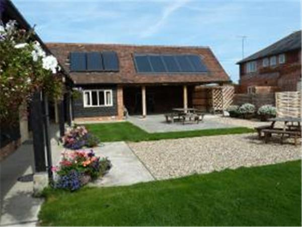 Kent farmstay accommodation, Faversham, England