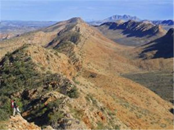 Northern Territory trekking holiday, Larapinta Trail, Australia