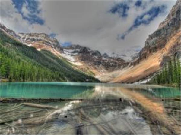 Hiking in the Rockies, Canada