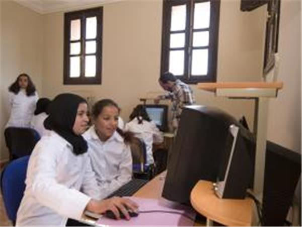 Education volunteering with Berber girls in Morocco
