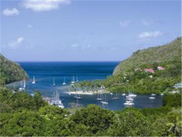 St Lucia B&B accommodation, Marigot Bay