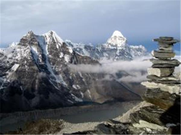 Everest high pass circuit trek