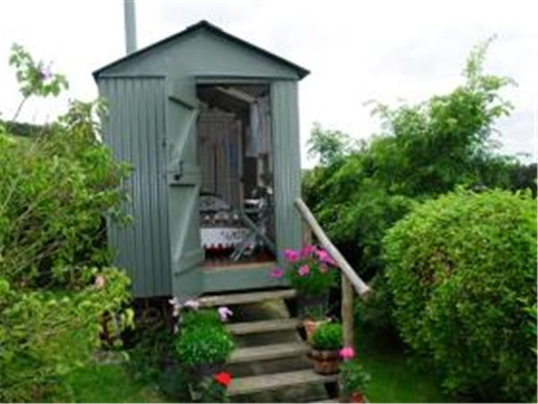 South Downs shepherds hut, nr Brighton, England