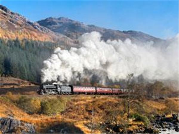 Scotland by railway holiday