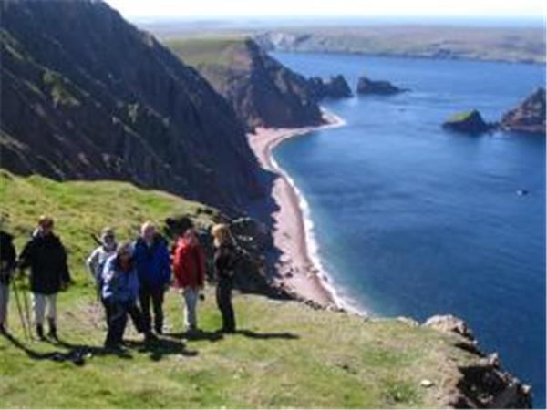 Orkney & Shetland Islands walking holiday in Scotland