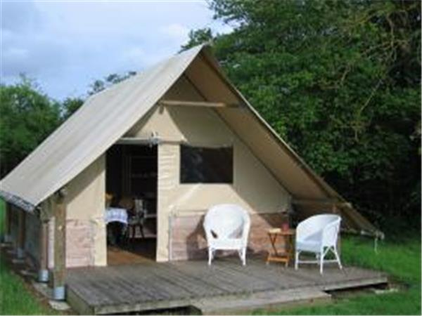 Camping lodges in Pays de Loire, France