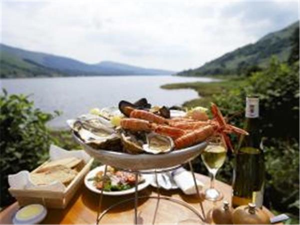 Scotland self drive holiday, seafood experience