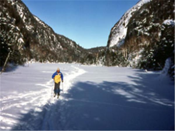 Adirondacks backcountry skiing 2 day course, New York State