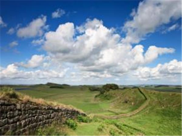 Hadrians wall walking holiday, England