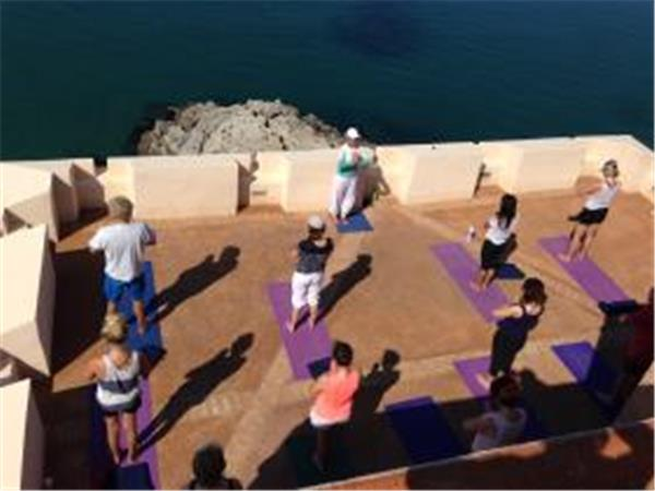 Yoga holiday in Sperlonga, Italy