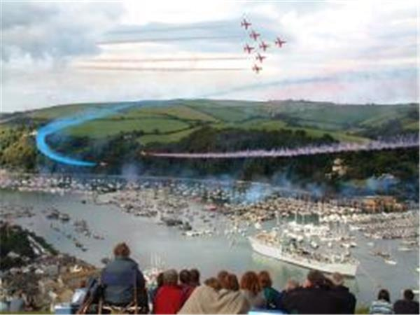 Dartmouth Royal Regatta on a Tall ship