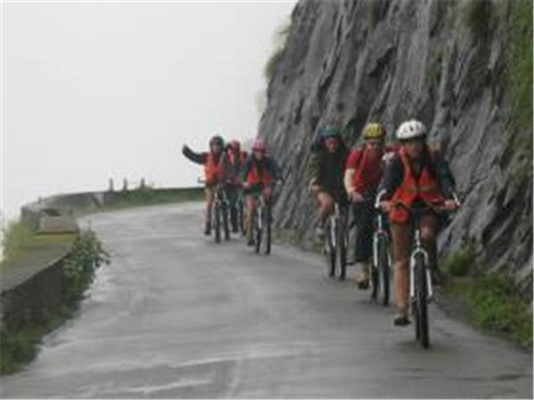 South India cycling tour, Western Ghats