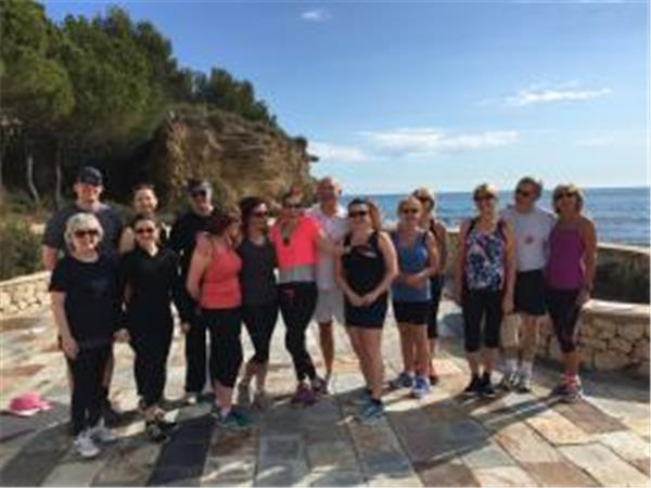 Luxury fitness holiday in Spain, intensive long weekend