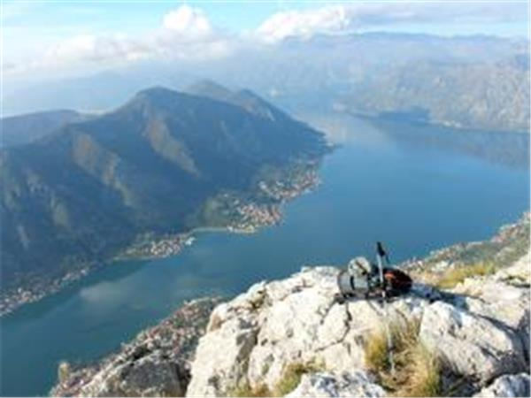 Montenegro hiking holiday, Bay of Kotor