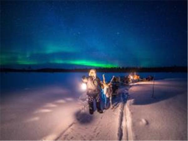 New Year holiday, Finnish Lapland