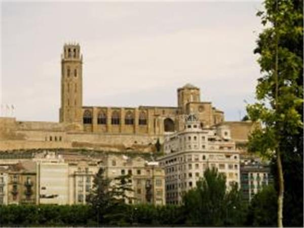 La Seu Vella Church in Lleida, Catalonia