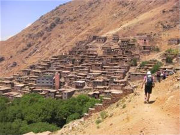 Morocco trekking holiday, Mount Toubkal in summer