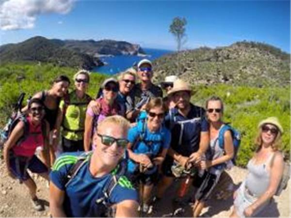 Ibiza walking holiday, point to point for groups