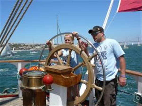 Lisbon to Cadiz tall ship sailing holiday