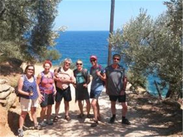 Mt Pelion hiking holiday in Greece