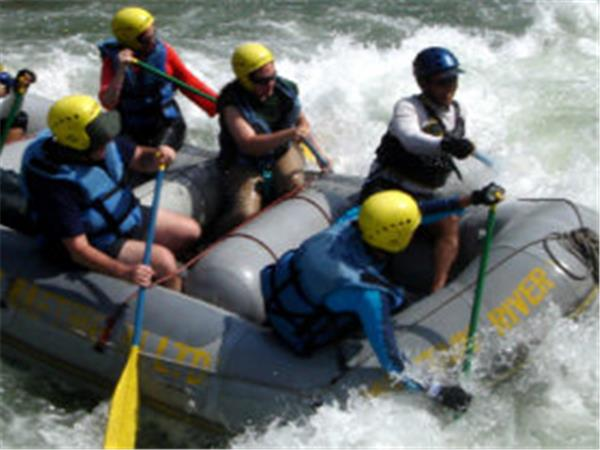 Whitewater rafting in Nepal