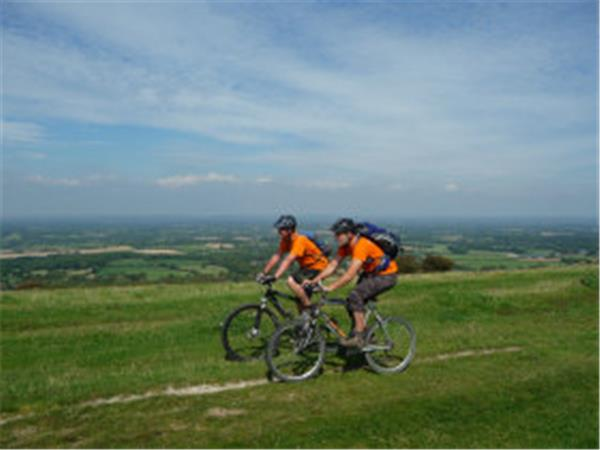 Sussex mountain biking day tours, England