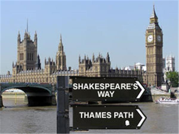 Shakespeares Way & Thames Path walking holiday
