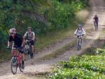 Cycling holiday in Borneo