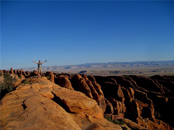 American National Parks walking holiday
