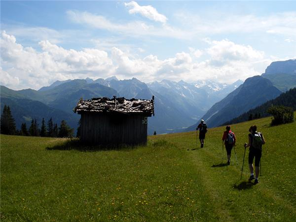 Walking holiday in the Austrian Tyrol
