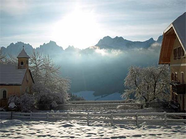 Dolomites winter activity holiday in Italy