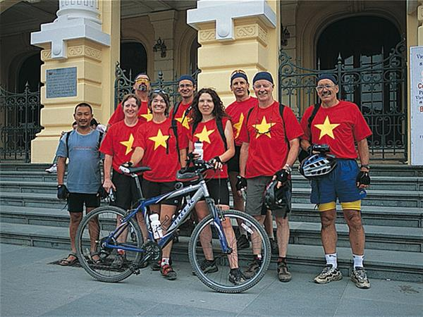 Vietnam small group cycling holiday