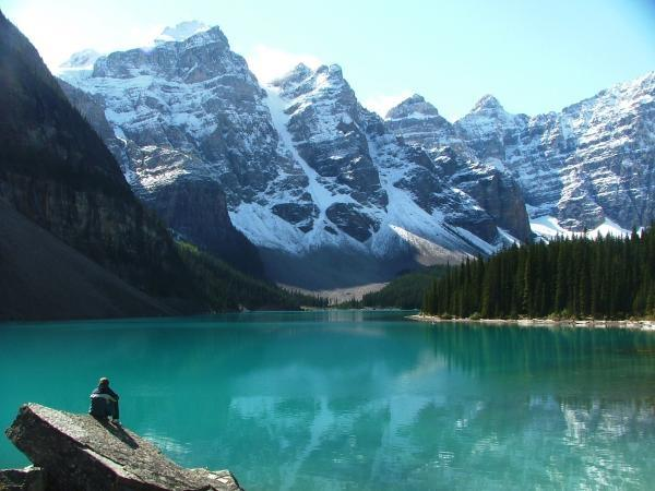 Canadian Rockies camping holiday