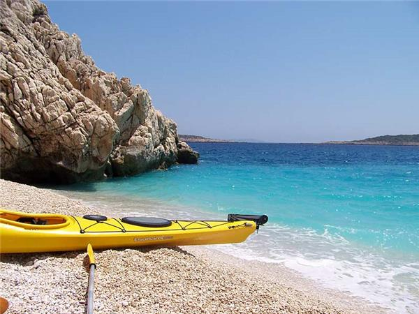 Kayaking in Turkey, Turquoise coast