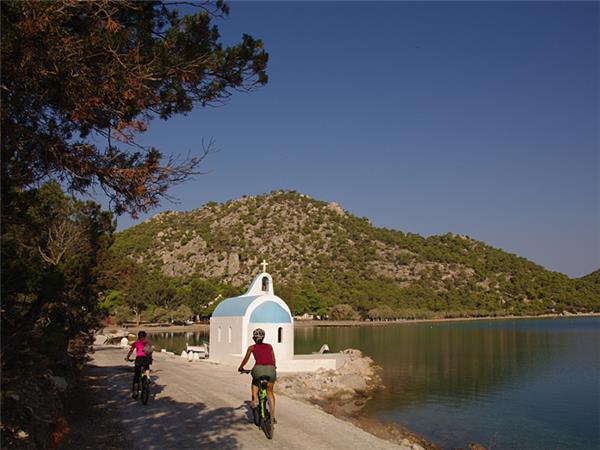 Greece cycling holiday