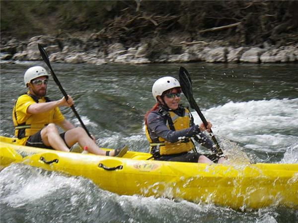 Ardeche activity holiday in France